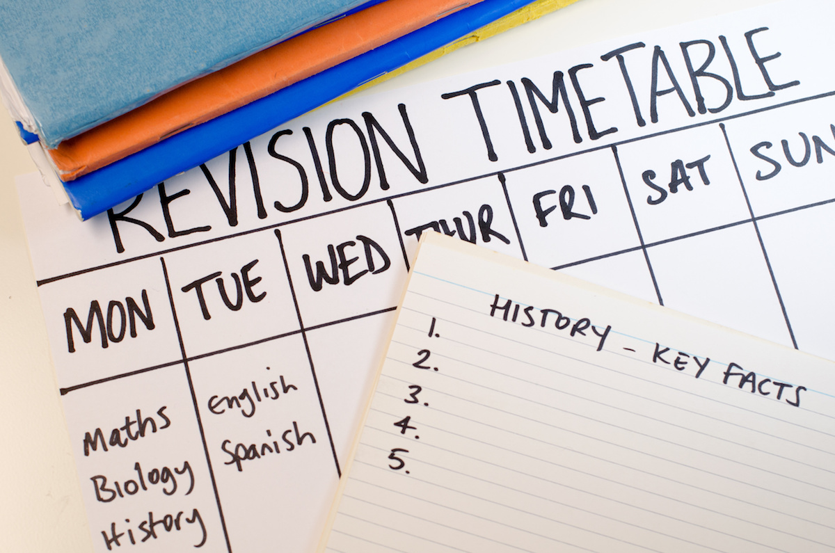 Planning de révisions : bons conseils